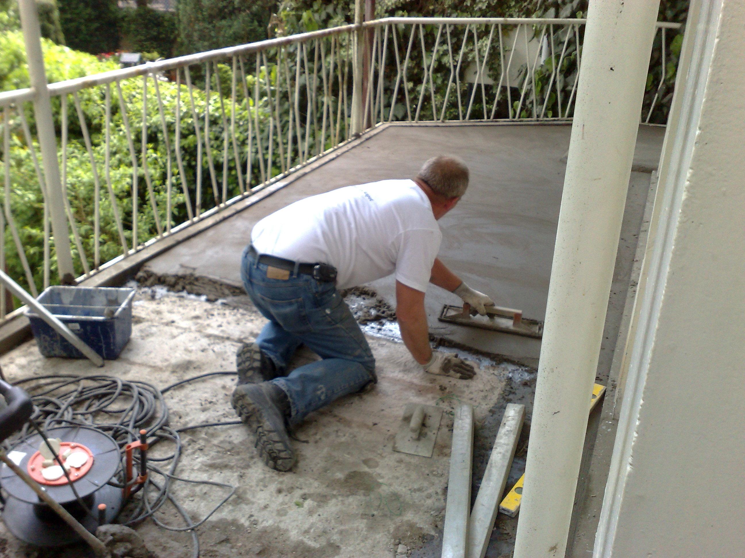 Vloer Voor Balkon : Renovatie balkon vloeren arnhem beton gaat ook kapot